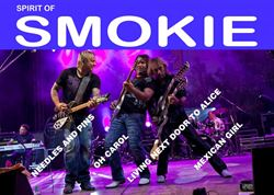 Just confirmed SPIRIT OF SMOKIE LIVE Saturday December 30th