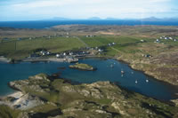 Bofin from Helicopter
