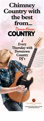 New Country Nights to start with Downtown FM every Thursday