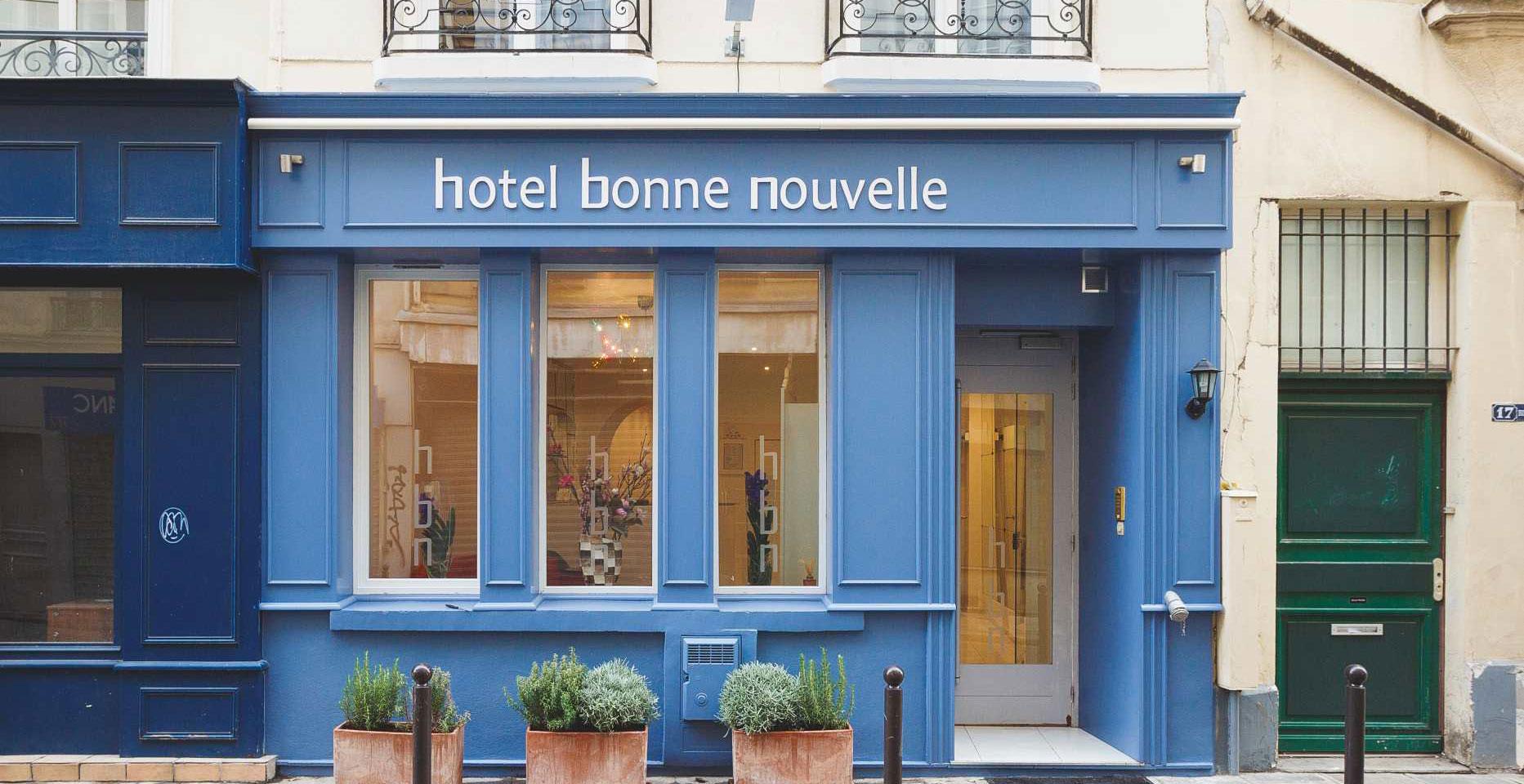 H tel bonne nouvelle paris site officiel meilleurs for Prix hotel france