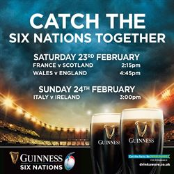 Six Nations Rugby at the Doffer Bar