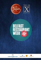 We are taking part in Belfast Restaurant Week from 18th to 21st of February